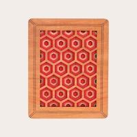 Petek Tablo - Kırmızı